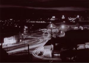 下関駅前夜景