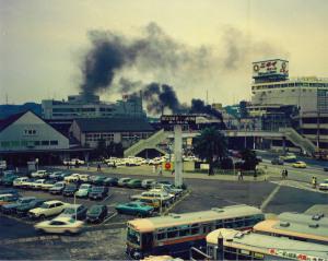 旧下関駅を発車するD51
